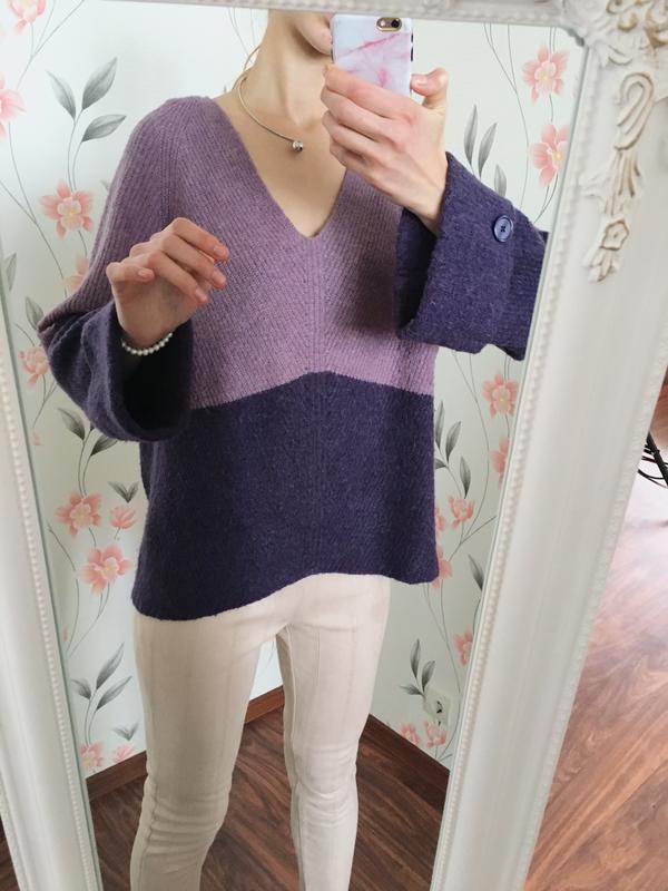 Крутой шерстяной свитер прямого кроя, свободный next
