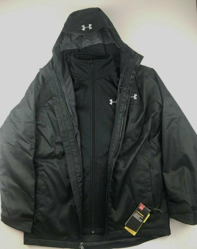 Куртка  under armour 3 в 1 оригинал из сша - Фото 7