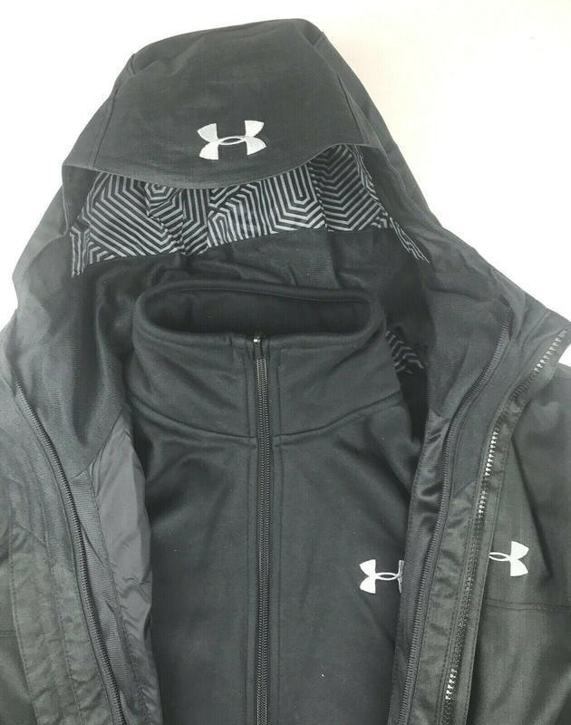 Куртка  under armour 3 в 1 оригинал из сша - Фото 9