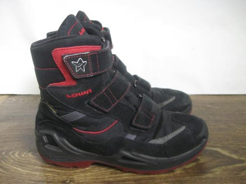 Зимние ботинки lowa goretex р.34
