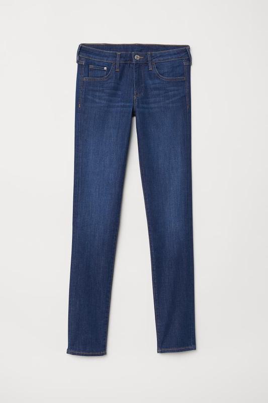 Узкие джинсы скинни h&m