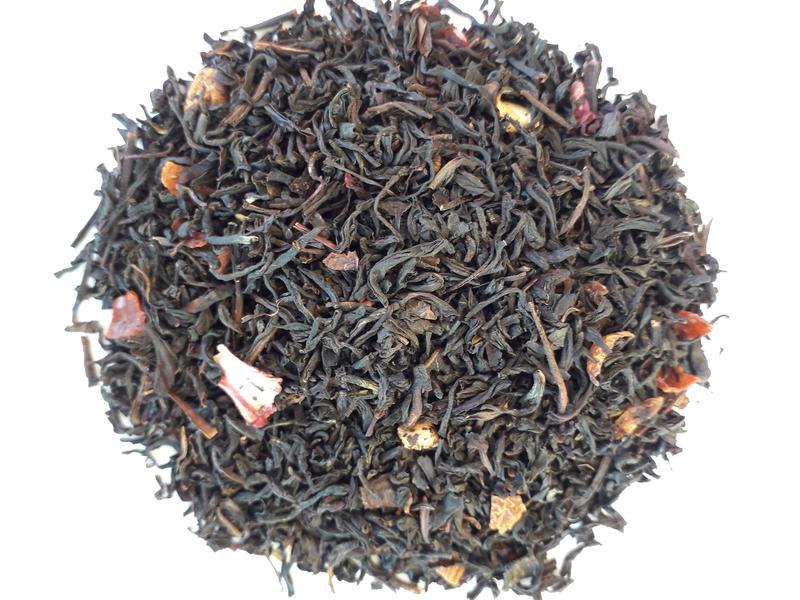 Черный ароматизированный чай Выбор Императора  100г.