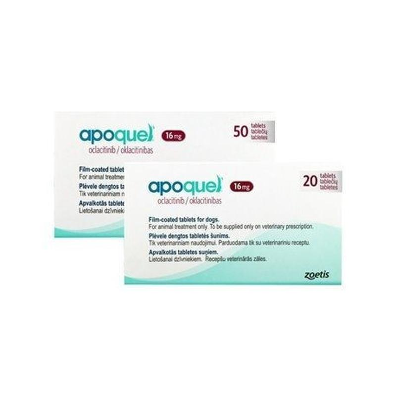 Zoetis Apoquel Апоквель для снятия зуда у собак 16 мг 20 мг