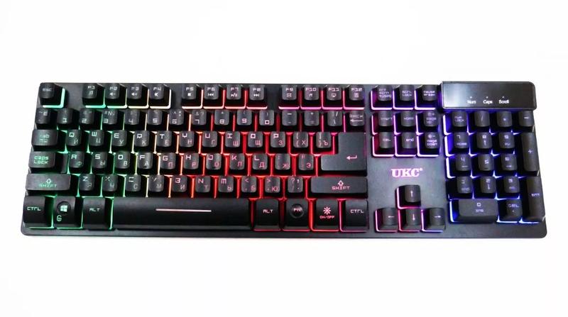 Клавіатура Keyboard ZYG 800 С подсветкой