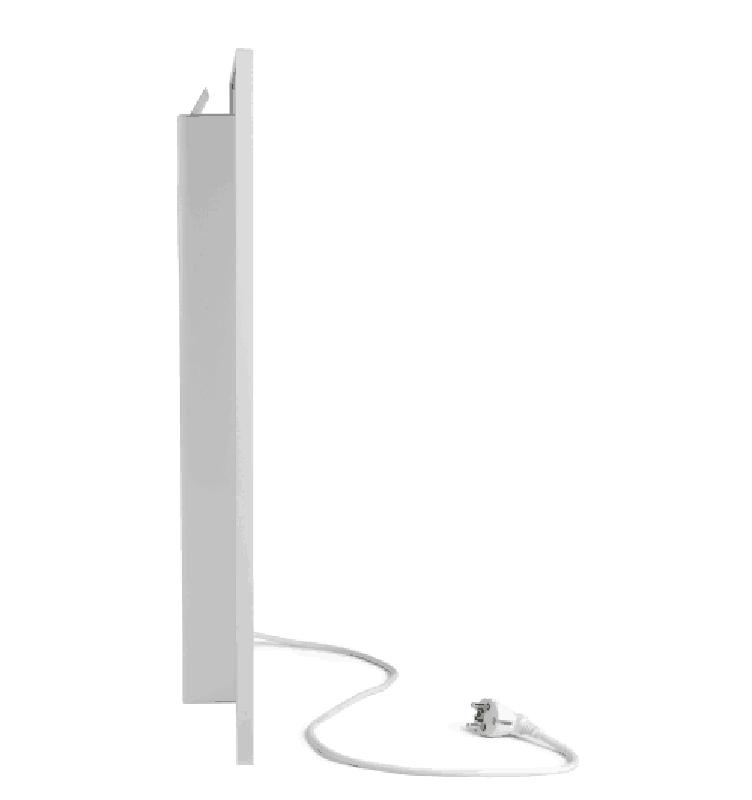 Керамічний обігрівач Ecoteplo AIR 600 EL (колір білий мармур) - Фото 2