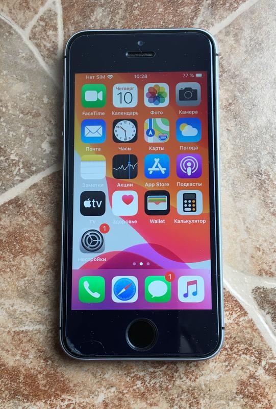 IPhone SE 32GB Space Gray Neverlock - Фото 2