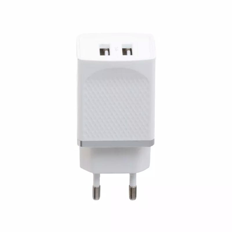 Мережевий зарядний пристрій Hoco C43A 2.4A Білий