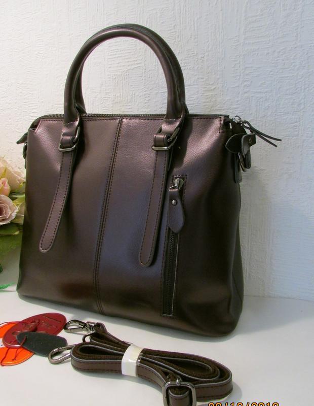 Кожаная женская сумка от alex rai