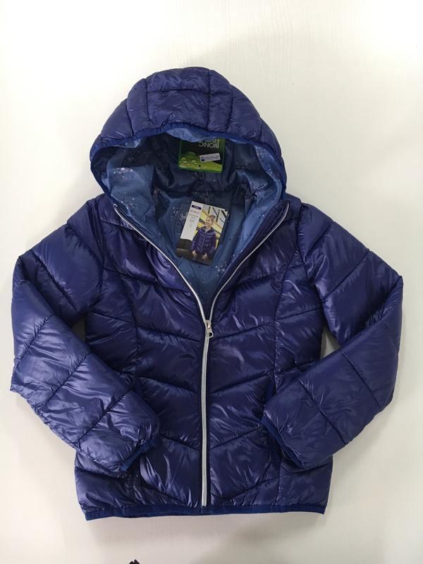 Куртка демі з капішоном для дівчинки. pocopiano. р.128,140. ні...
