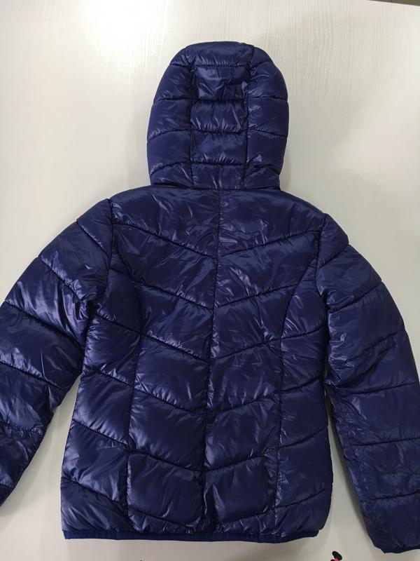 Куртка демі з капішоном для дівчинки. pocopiano. р.128,140. ні... - Фото 4
