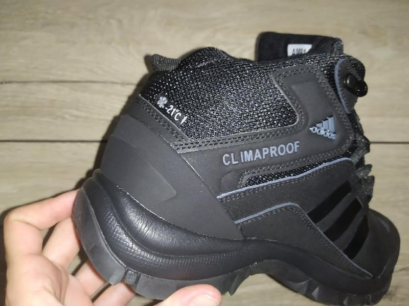 Зимние ботинки adidas climaproof зима зимові кроссовки - Фото 3