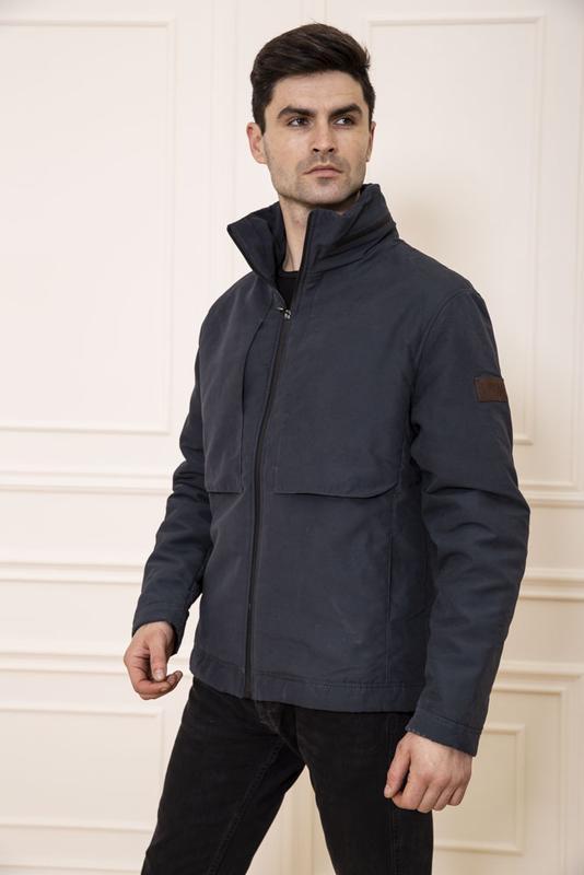 ????темно-синяя куртка мужская/s/m/l/xl/ 131r019-02????