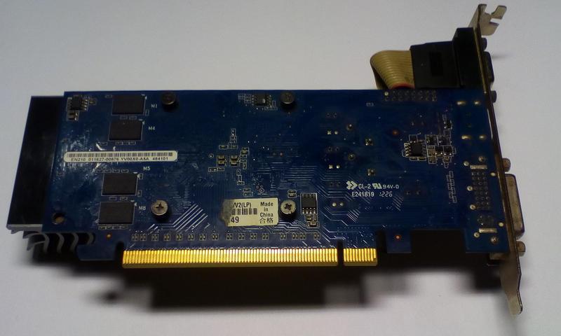 Видеокарта nvidia GeFource 210 - Фото 4