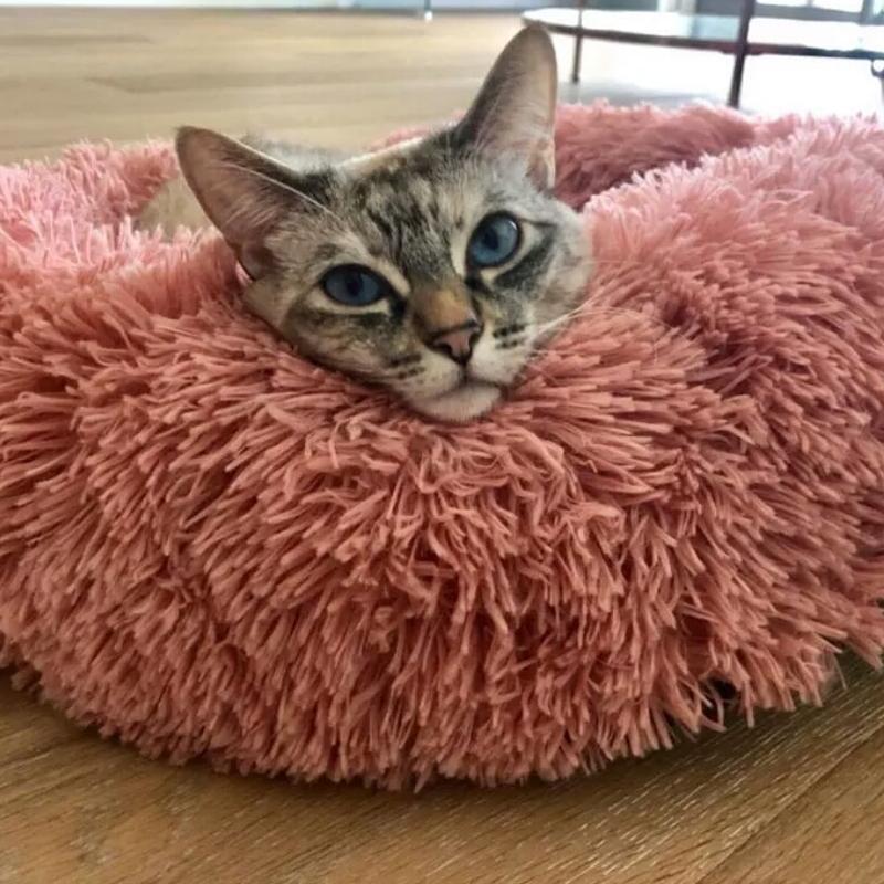 Лежак лежанка для кошек собак ,домик подстилка