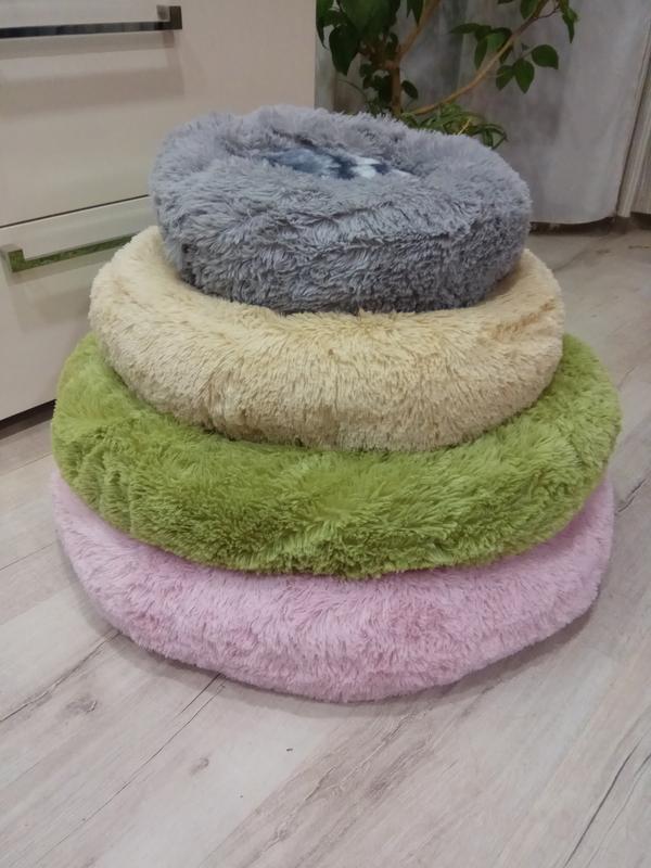 Лежак лежанка для кошек собак ,домик подстилка - Фото 4