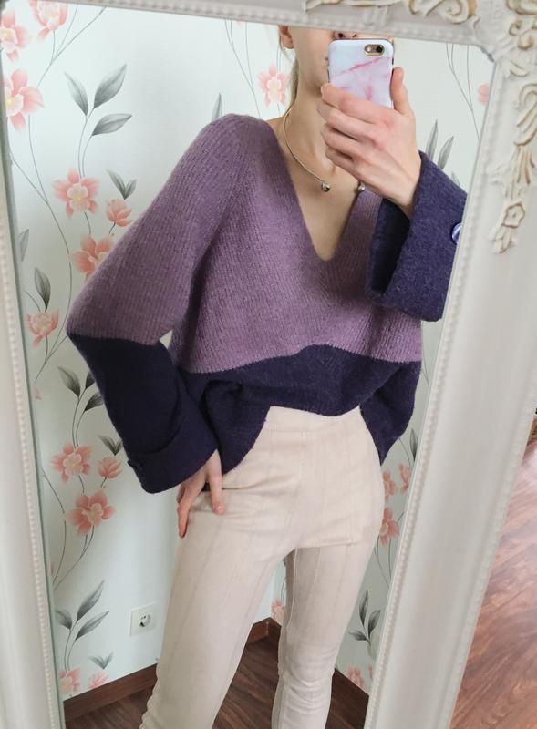 Крутой шерстяной свитер прямого кроя next
