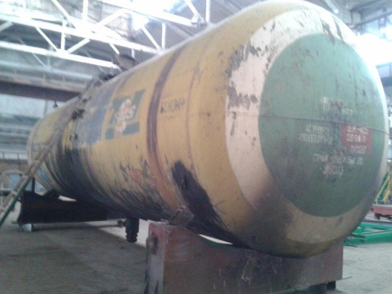 Ж/д цистерна Емкость Резервуар 73 куба (стенка 10 mm) для КАС,... - Фото 4
