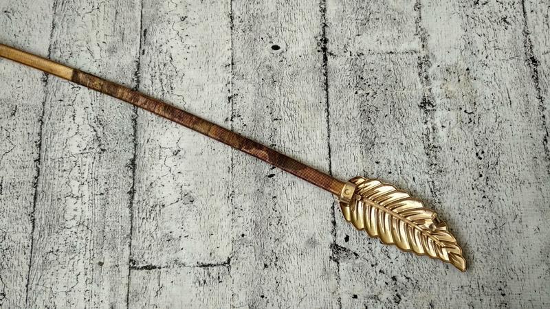 Золотистый пояс/резинка  на талию, металл - Фото 6