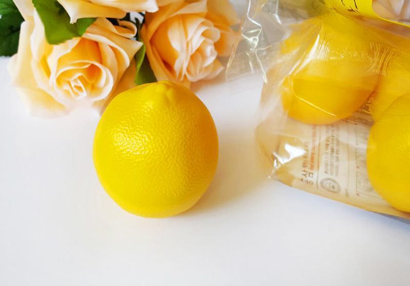 Корейский питательные крем для рук с экстрактом лимона в виде ...