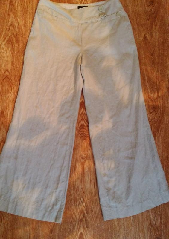 Новые льняные брюки от next.