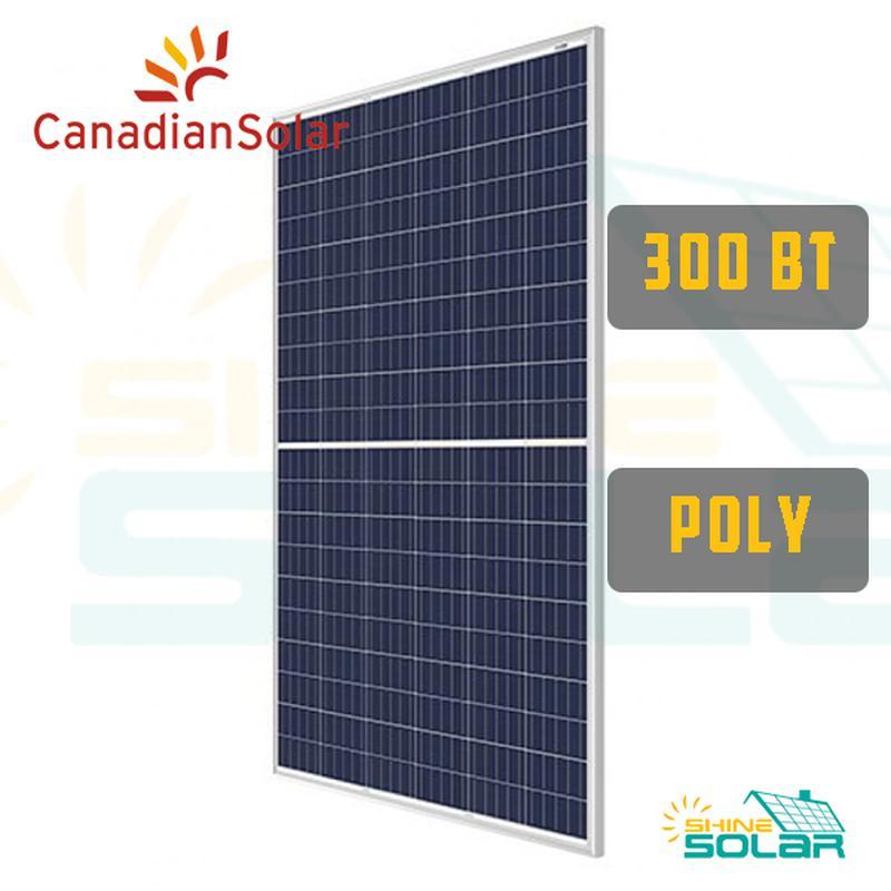 Солнечная панель батарея Canadian Solar 300W poly