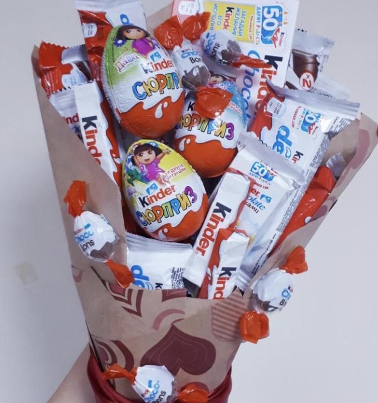 Букет из сладостей - Фото 2