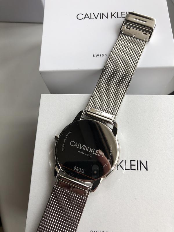 Мужские часы calvin klein k3m2t124 - Фото 6