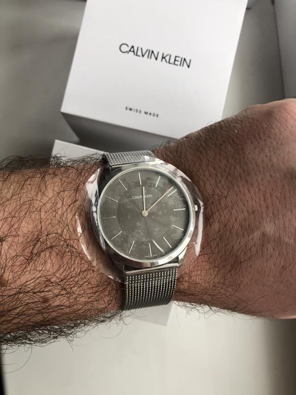 Мужские часы calvin klein k3m2t124 - Фото 8