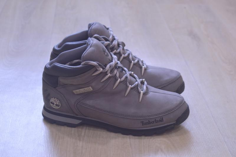 Timberland мужские зимние ботинки кожа оригинал