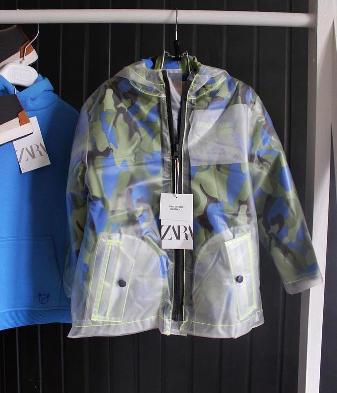 Новая демисезонная куртка zara