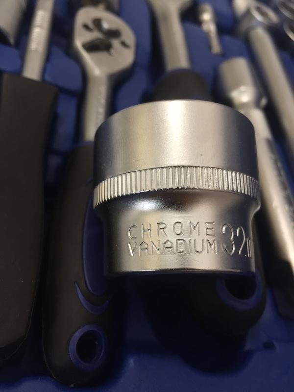 Набор инструмента профессиональный SWAG, 108 предметов набір ключ - Фото 3