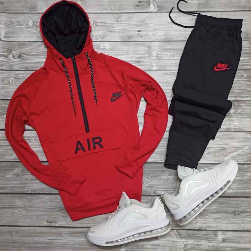 Демисезонный спортивный костюм nike air | спортивний костюм найк