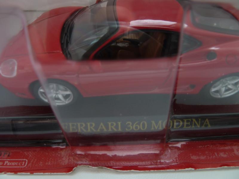 Ferrari 360 MODENA Масштаб 1:43 - Фото 3