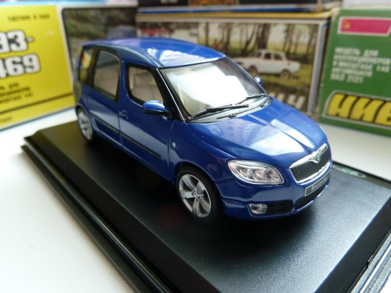 Skoda Roomster ABREX Масштаб: 1:43