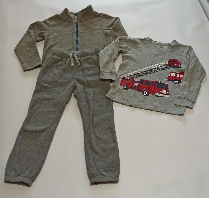 Флисовый спортивный костюм carters