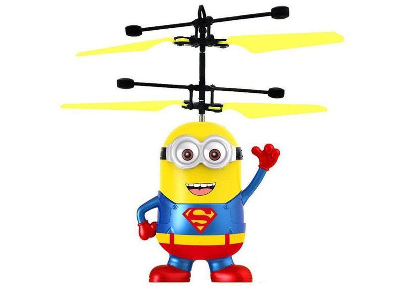 Игрушка летающий миньон Супермен BauTech (вертолет)