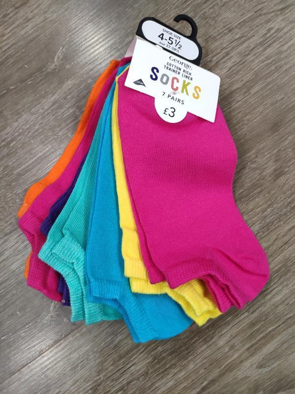 Носки разноцветные george
