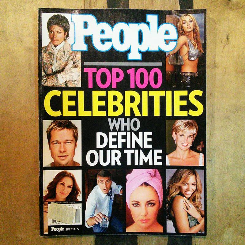 Коллекционные журналы People, журнал о знаменитостях