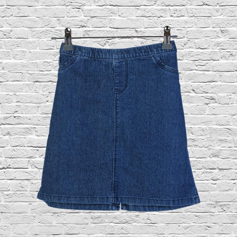 Короткая юбка джинсовая синяя, синяя джинсовая юбка короткая