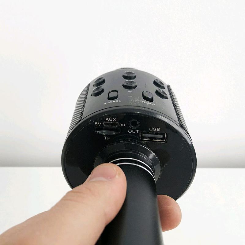Микрофон WS-858 WSTER BLACK - Фото 5
