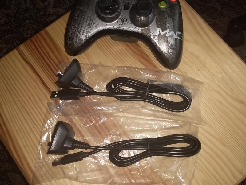2шт/лот USB зарядка кабель шнур питания джойстик геймпад Xbox 360