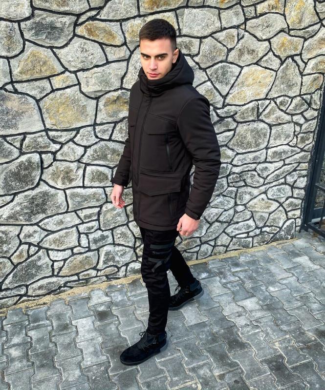 "Мужская зимняя куртка ""rocketman"""