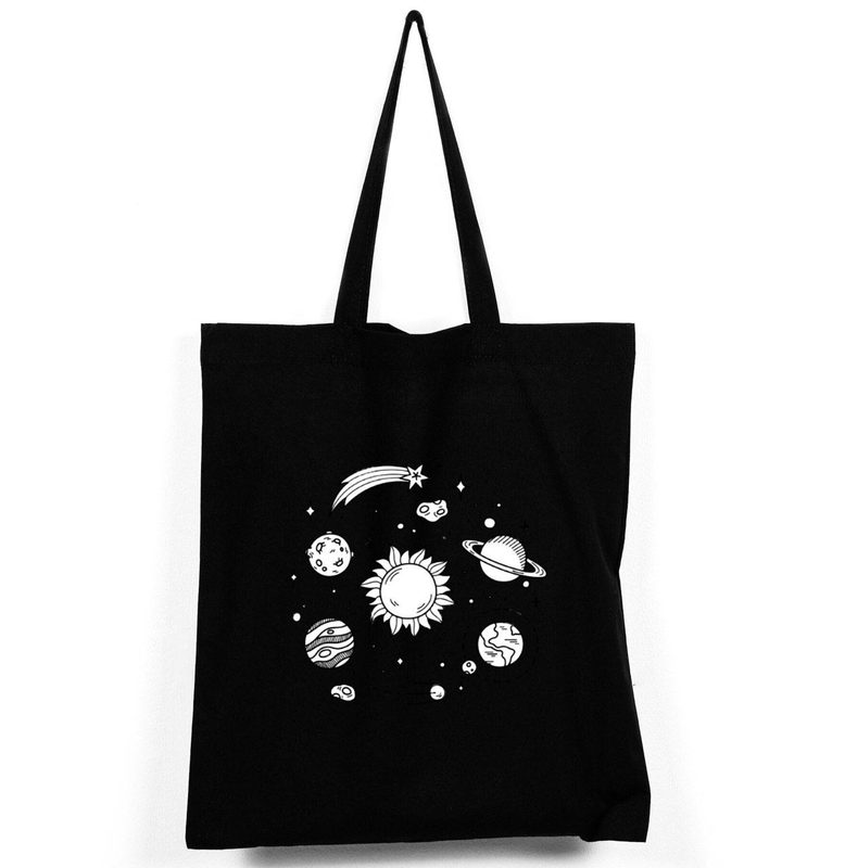 """Эко-сумка шоппер """"Солнечная система"""""""