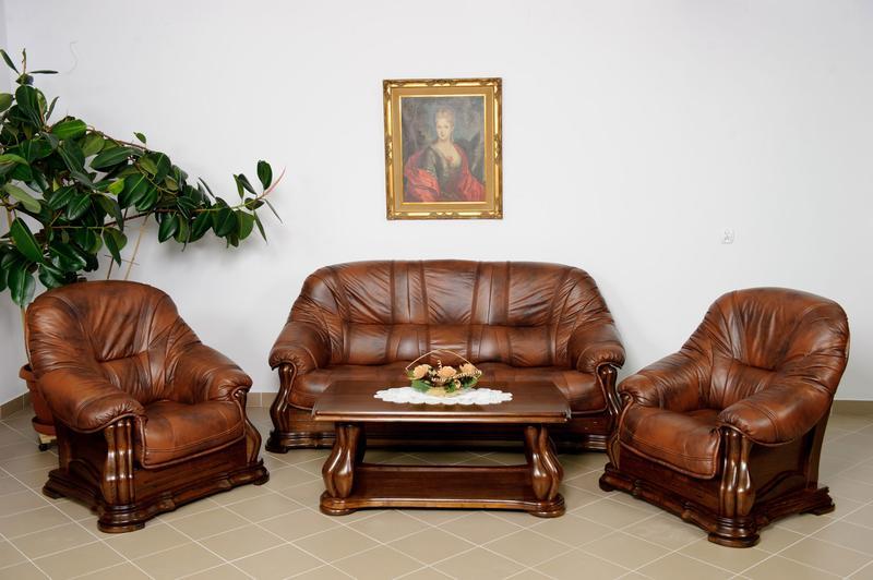 Комплект кожаной мебели Диван и два кресла Miami. Польша. Под зак