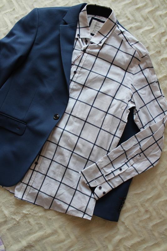 Дуже стильна чоловіча сорочка cavanna city мужская рубашка