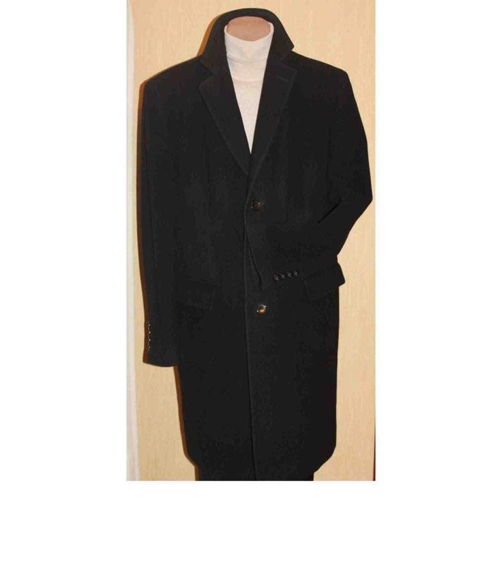 Эксклюзивное пальто шерсть/кашемир от легендарного voronin