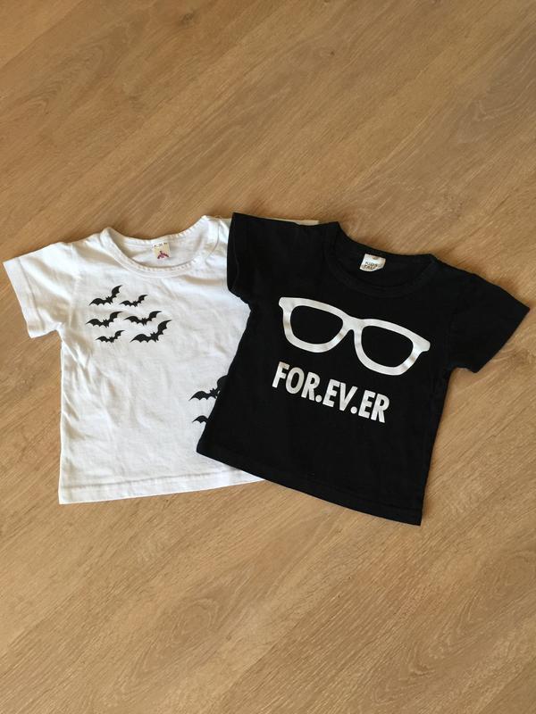 👶🏼 комплект стильных футболок kids tales