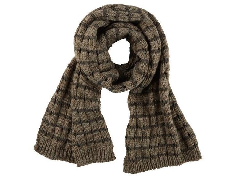 Женский тёплый вязаный шарф esmara