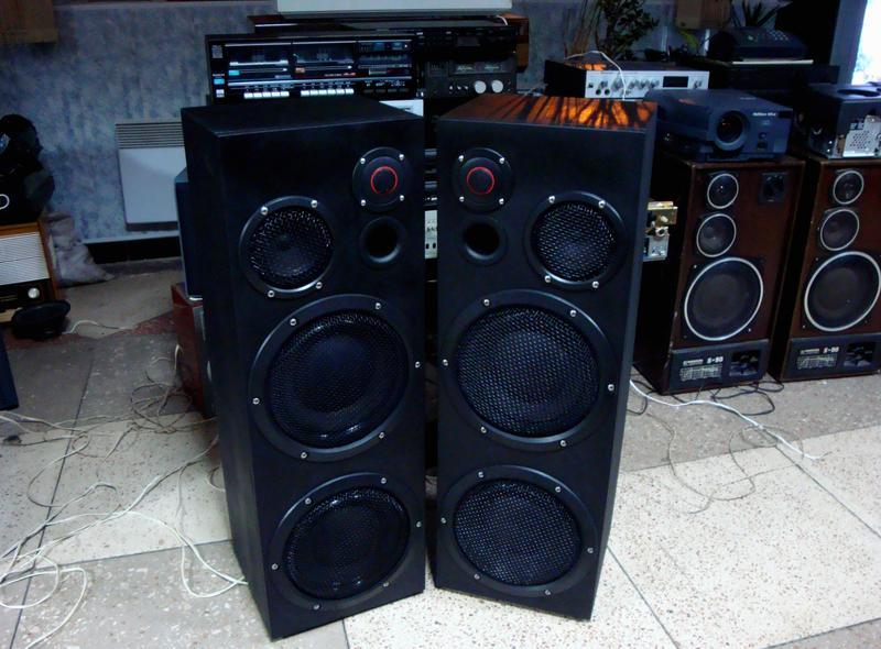 Мощные колонки,акустическая система Alnirs SL 003 Long Black