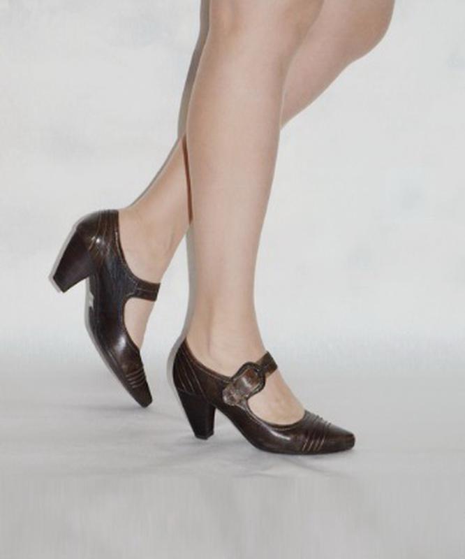 Кожаные удобные туфли 5 th avenue  38 р